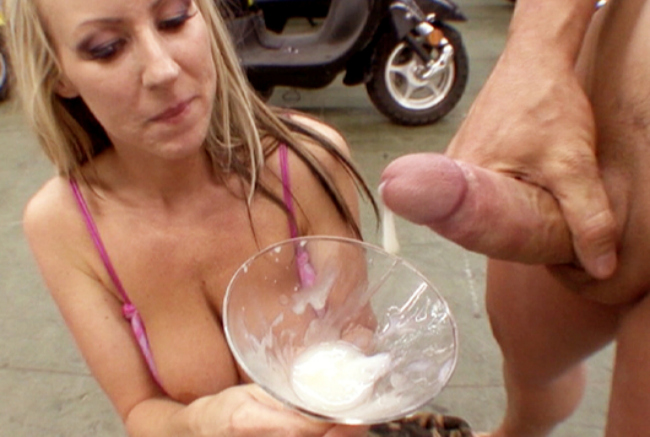Cum sperm cocktail