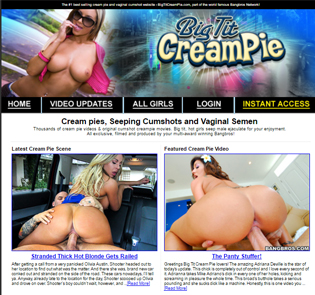 Nice BangBros porn site focused on big boobs and crempies