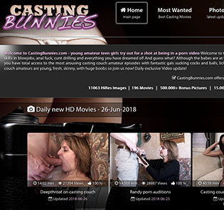 Great adult website if you're into stunning casting HD videos