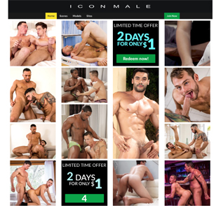 Great gay pay porn site for sexy men in wild action.