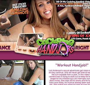 Most popular xxx website to get awesome handjob material