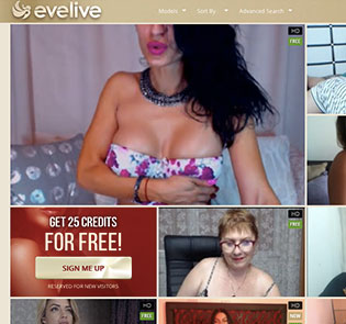 Nice live sex cams website if you're into slutty camgirls live solo shows