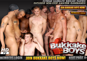 Amazing gay porn site with bukkake scenes.