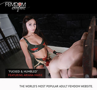 Great xxx site featuring awesome femdom content