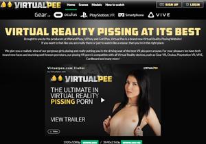 Fine porn pay website for VR pissing scenes.
