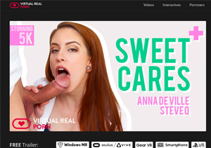 Nice paid porn website about VR sex scenes.