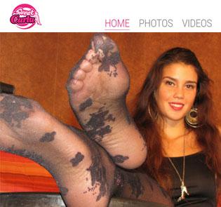 Good cute pornstar porn site with foot fetish content