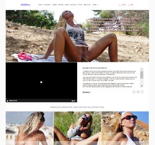 Great UK pornstar porn site for NatalieK fans.
