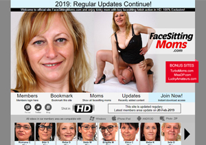 Excellent pay porn website for facesitting videos.