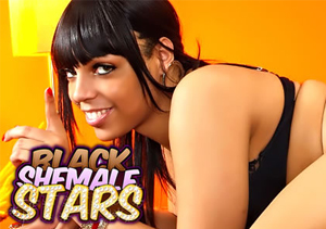 Popular paid porn site for black trannies lovers.