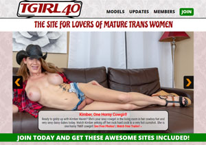 My favorite porn website for mature trannies in wild action.