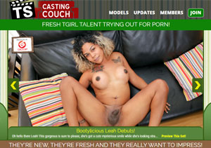 The finest paid porn site if you like sex casting videos featuring hot shemales.