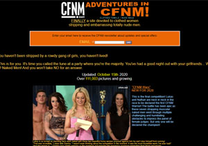 Great paid adult site with excellent CFNM content.