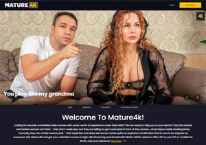 Popular pay porn site for 4K mature xxx vids.